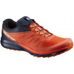 c5dd92f7c5 Nové boty SALOMON SENSE PRO 2 RED BLACK NAVY WIL L37846600 s měkčím dopadem  a hladším přechodem jsou ideální volbou